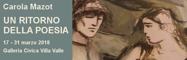 """Carola Mazot """"Un ritorno della poesia"""""""