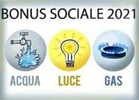 Bonus sociale: acqua, luce e gas