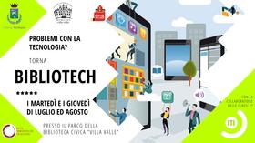 BIBLIOTECH 2020 @  Biblioteca Civica Villa Valle