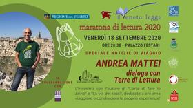 L'autore Andrea Mattei dialoga con Terre di Lettura