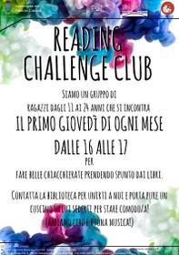 Reading Challenge Club