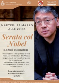 Locandina Serata col Nobel