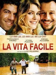 """Locandina film """"La vita facile"""""""