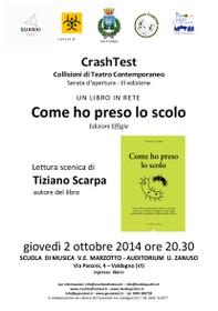 """Un libro in rete: presentazione del libro """"Come ho preso lo scolo"""" di T. Scarpa"""